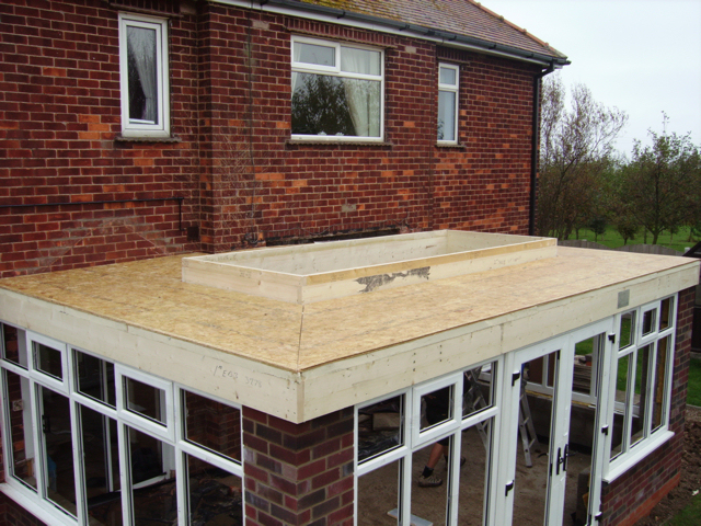 Roof Lantern Extension